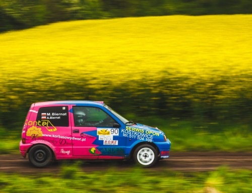 BBB Rally Team Never Give Up w Gaszowicach