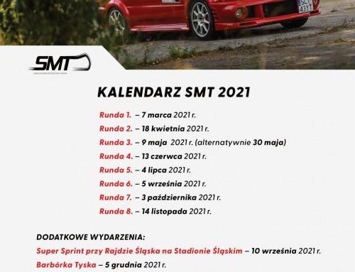 Kalendarz 2021 cyklu Samochodowych Mistrzostw Tychów