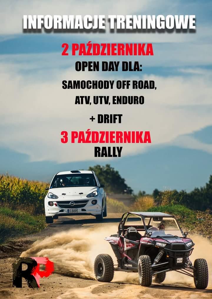 Weekend w Rally Park Kaczyce